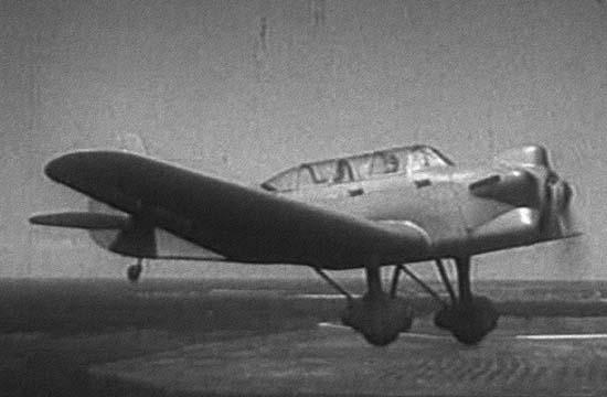 3.УТ-2Л в полете. 3