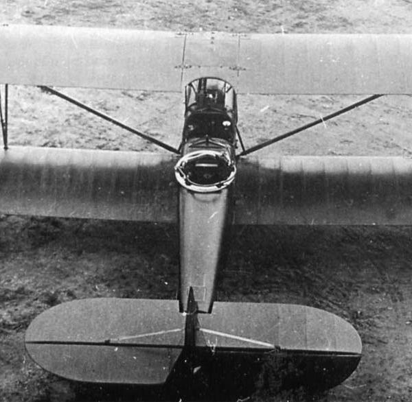 3.Учебно-тренировочный самолет П-2.