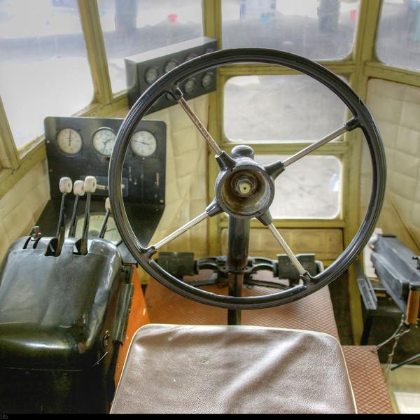 32а.Место пилота в кабине самолета Илья Муромец. Музей ВВС Монино.