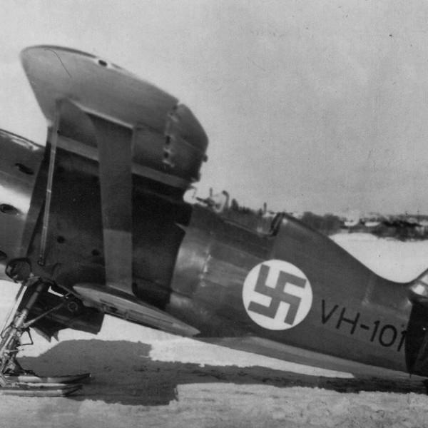 33а.И-153 ВВС Финляндии.
