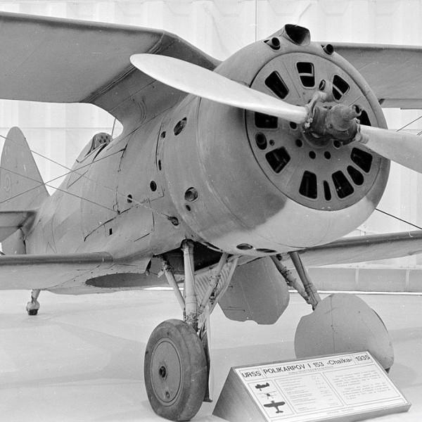 36.И-153 в одном из зарубежных авиамузеев.
