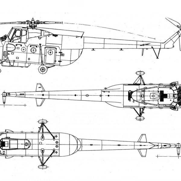 37.Ми-4. Схема.