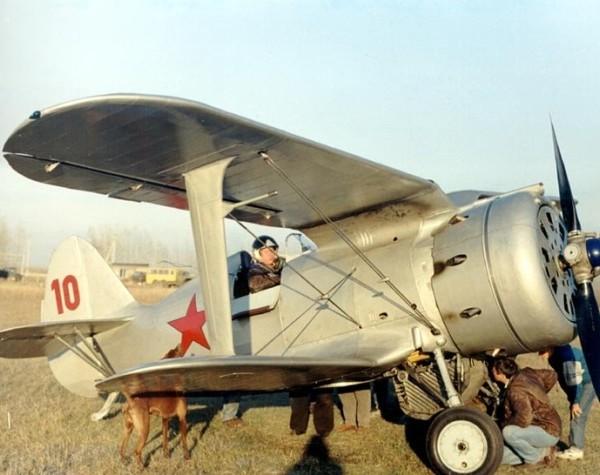 37.Реплика И-153.