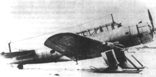 3а.Испытания БШ-1 на лыжном шасси, 1939г.