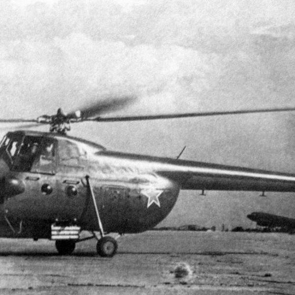 3а.Ми-4А с блоком ТРС-132