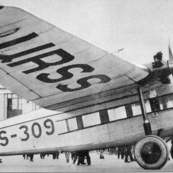 3б.АНТ-9 Крылья Советов с двигателями Gnome-Rhone Titan.
