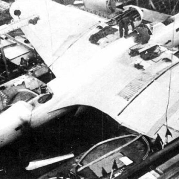 3б.Финальный этап сборки АНТ-41, 22 мая 1936 года