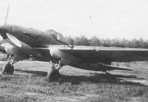 3б.Ил-2 с 23-мм пушками ВЯ-23 и РС
