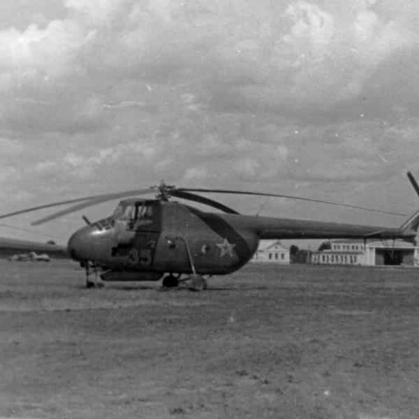 3б.Ми-4А звена связи Борисоглебского ВВАУЛ.1953г.