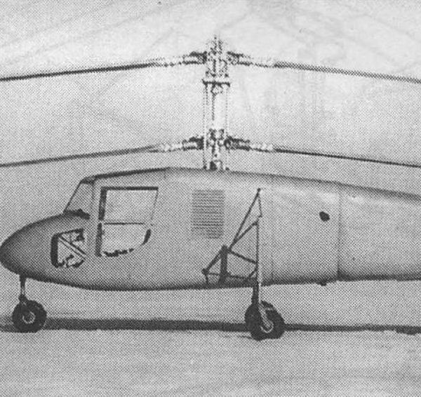 3в.Первый вариант вертолета ЭГ.