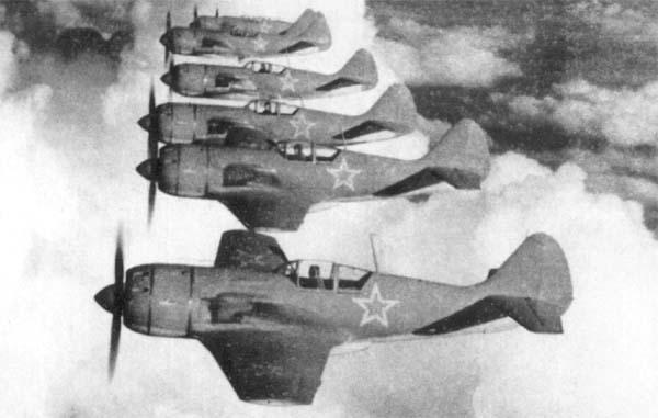 4.Эскадрилья Ла-9