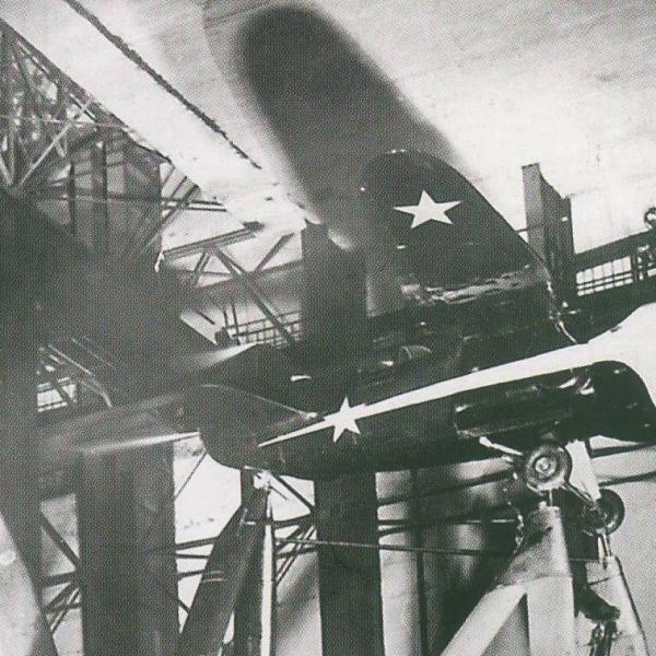 4.ИС-1 в аэродинамической трубе.