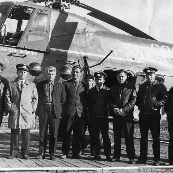 4.Инспекция на Шпицбергене у Ми-4ПС. 1970 г.