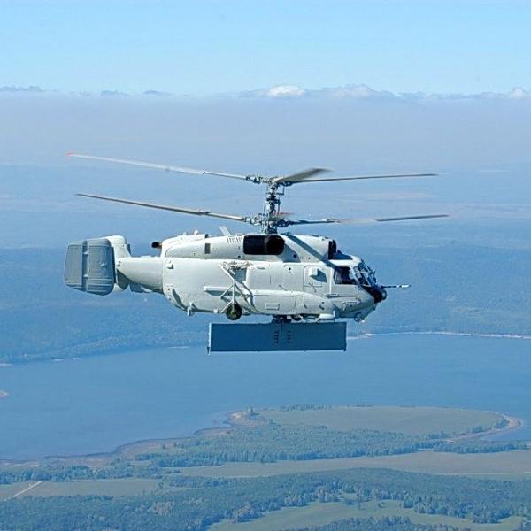 4.Ка-31 в полете. 2