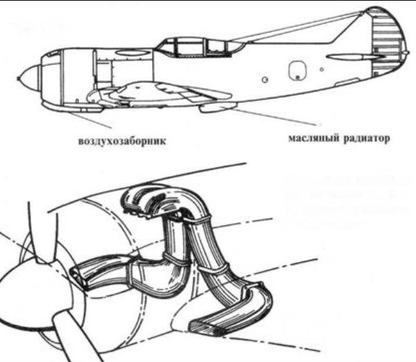 4.Ла-5 № 206. Схема 2