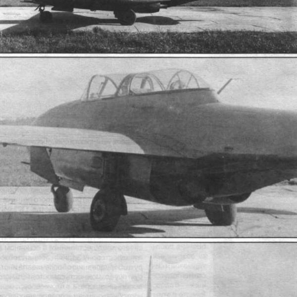 4.МиГ-9УТИ на испытаниях.
