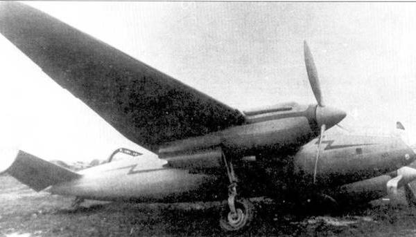 4.СББ-1 после аварийной посадки.