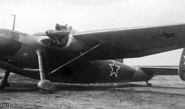 4.Ще-2 на испытаниях в НИИ ВВС.