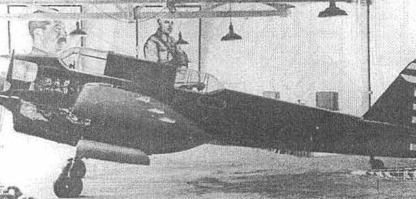 4.Самолет N 17 в первоначальном облике, еще с французскими винтами.