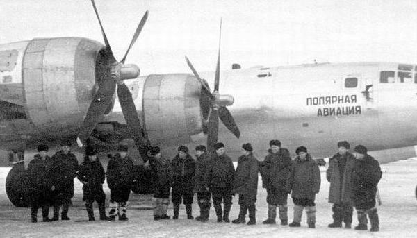 4.Ту-4 из подразделения полярной авиации.