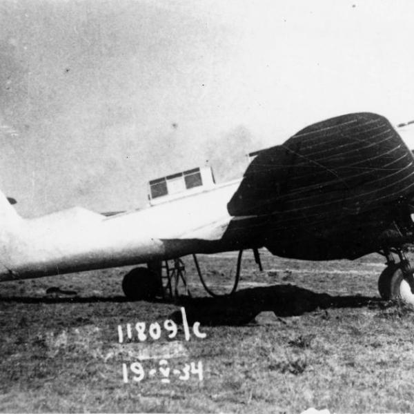 4.Тяжелый истребитель МИ-3Д (АНТ-21бис).
