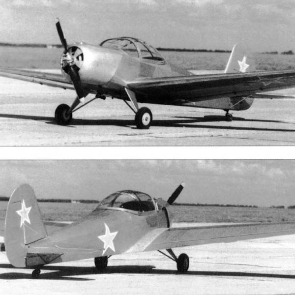 4.Учебно-тренировочный самолет Як-20. 2