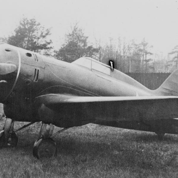 4.Учебный самолет НВ-2бис (УТИ-5). 1