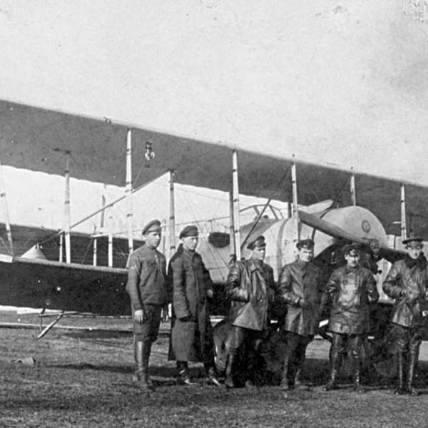 4.Учебный самолет П-IVбис образца 1923 г.