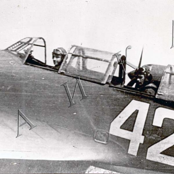 4.Вид на кабину Ла-7УТИ.