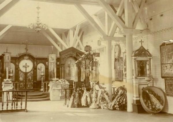 4.Внутреннее убранство церкви Св.Пророка Илии.
