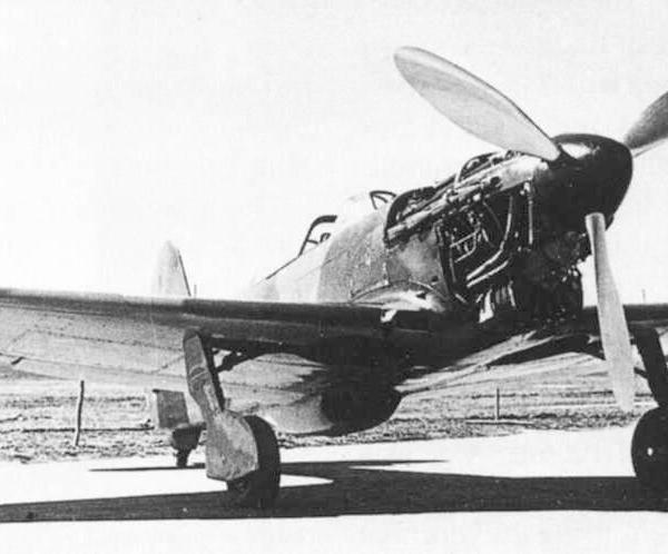 4.Як-5 (И-28) без капота.