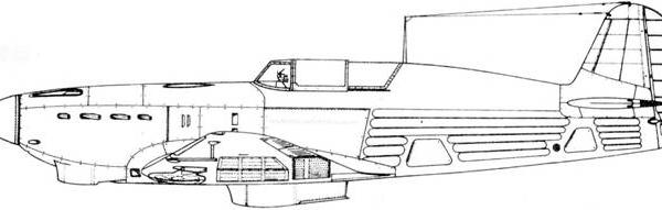 4.Як-7-37. Схема.