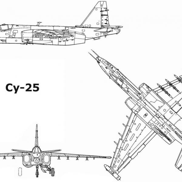 43.Су-25. Схема 2