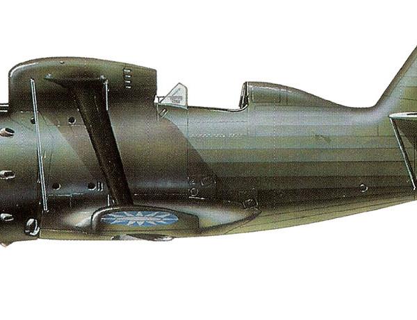 44.И-153 ВВС Китая. Рисунок.