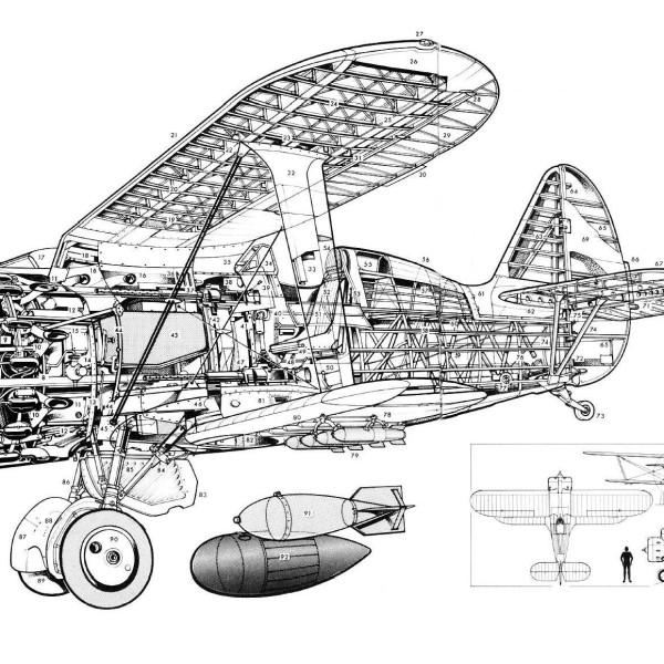 47.И-153 в разрезе.