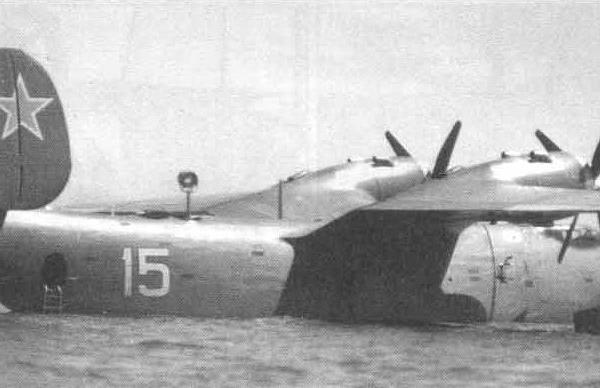 4а.Бе-6СС на войсковых испытаниях в Поти. 1958 г.