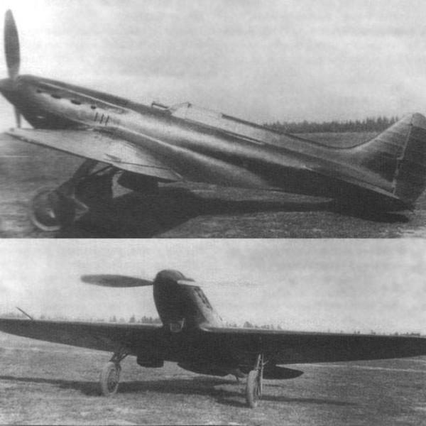 4а.И-17 (ЦКБ-19бис) на исп. пушечного вооружения. 1937 г.