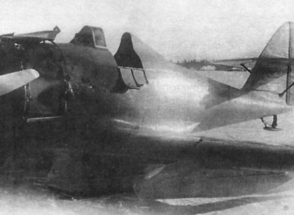 4а.ИП-1 после аварийной посадки 3 марта 1935 г..