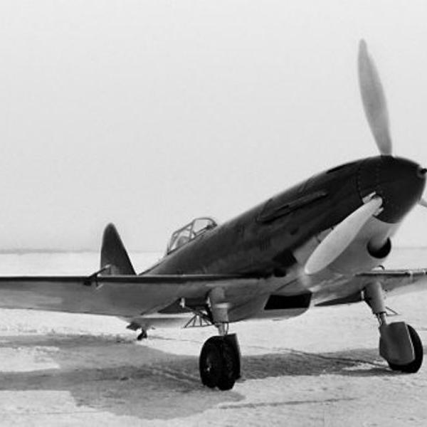 4а.Истребитель И-21 № 3 Пашинина