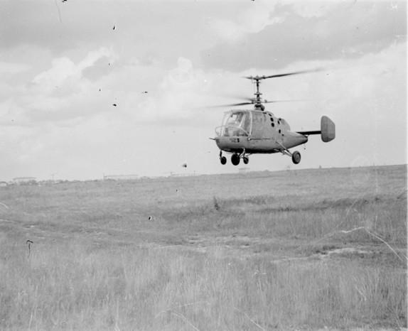 4а.Ка-15 в полете. 1