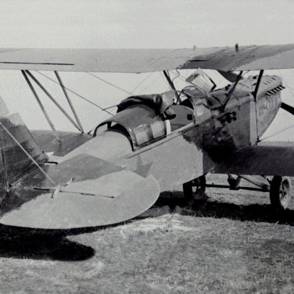 4а.Самолет-разведчик Р-Z на стоянке.