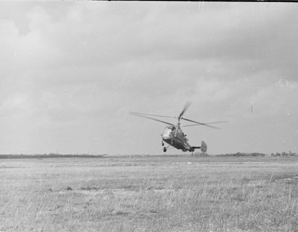 4в.Ка-15 в полете. 3