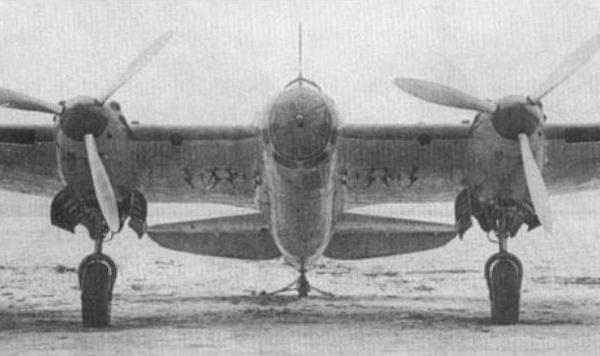 5.Ар-2. Вид спереди. 2