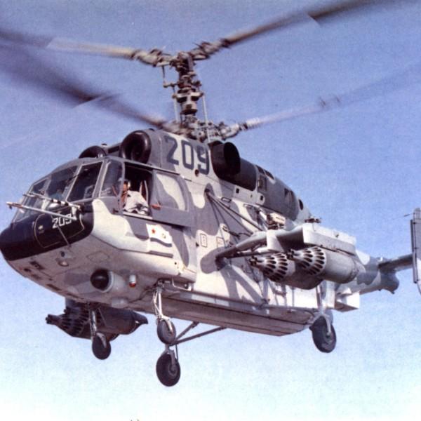5.Ка-29 - многоцелевой транспортно-боевой вертолет.
