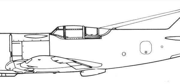 5.Ла-5 № 206. Схема 3