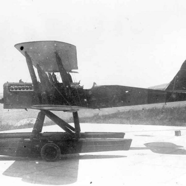 5.МР-1 на береговой стоянке.