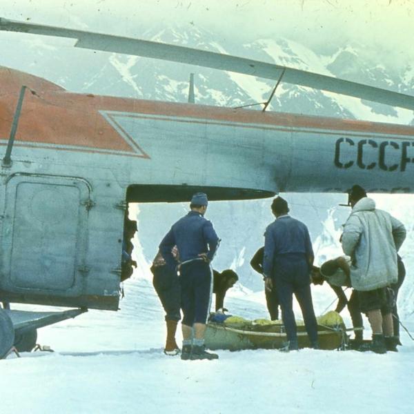 5.Ми-4ПС Аэрофлота. Эвак. в г. Киргизии. 1974 г.