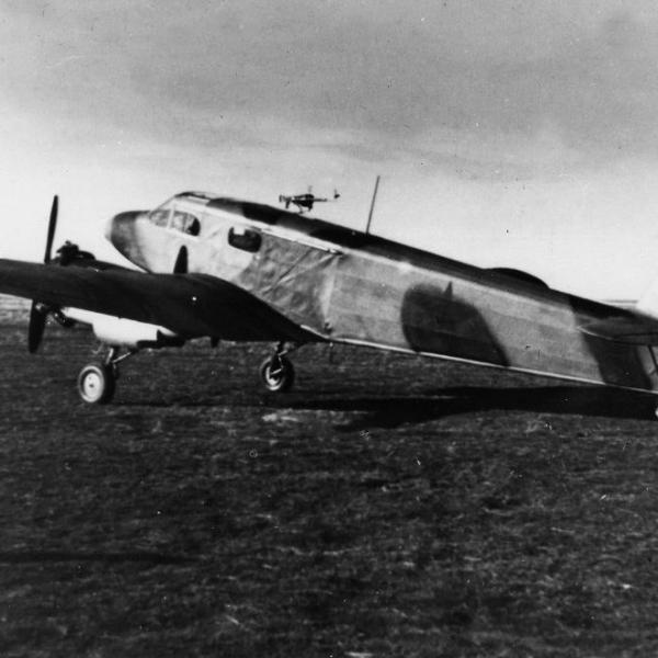 5.Опытный Як-6 НББ. 2