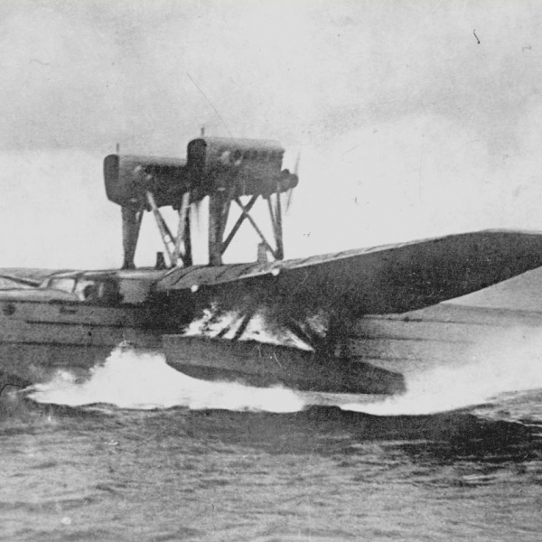 5.Первый полет летающей лодки МДР-2 (АНТ-8). Экипаж С.Т.Рыбальчука