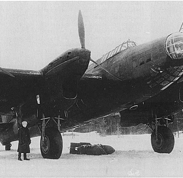 5.Серийный бомбардировщик ТБ-7 (АМ-35).